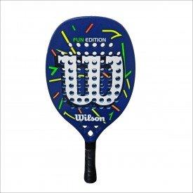 raquete de beach tennis fun wilson ffd4eda227d47c77784eed7ec573903b
