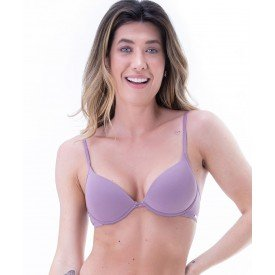 sutia push up com bojo soft e alcas finas