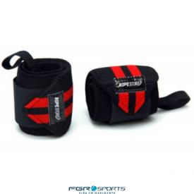 munhequeira preta e vermelha wrist
