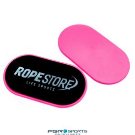 discos de deslizamento rosa