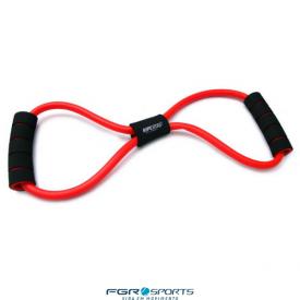extensor elastico em 8 tensao vermelho