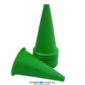 cone para treinamento esportivo verde