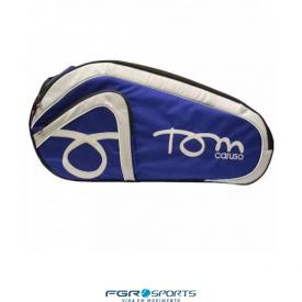 raqueteira tom caruso azul royal com preto