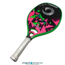 raquete de beach tennis doze k