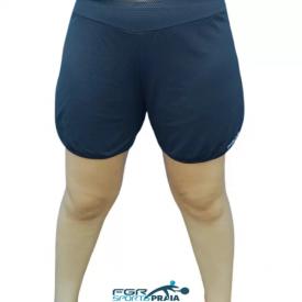 shorts feminino action dry preto