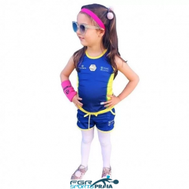shorts infantil selecao brasileira