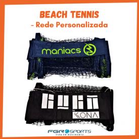 rede de beach tennis lona bagum personalizada